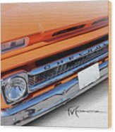 Dream_chevy107 Wood Print