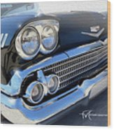 Dream_chevy110 Wood Print