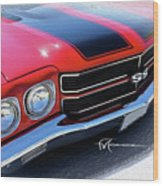 Dream_chevy121 Wood Print