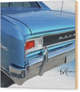 Dream_chevy126 Wood Print