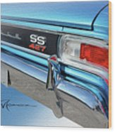 Dream_chevy127 Wood Print