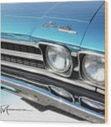 Dream_chevy136 Wood Print