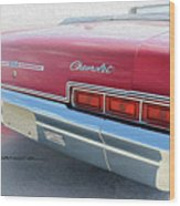 Dream_chevy163 Wood Print