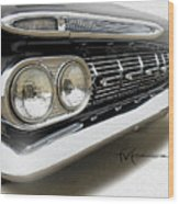 Dream_chevy185 Wood Print