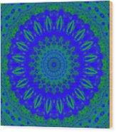 Dreamer Kaleidoscope Wood Print
