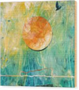 Dreaming Dreams Wood Print