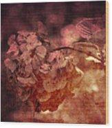 Dreaming Hortensia Wood Print