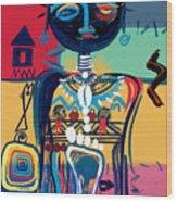 Dreaming Of Africa Wood Print by Oglafa Ebitari Perrin