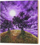 Dreaming Of Oak Trees Wood Print