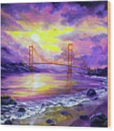 Dreaming Of San Francisco Wood Print
