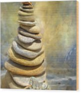 Dreaming Stones Wood Print