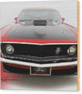 Dream_mustang42 Wood Print
