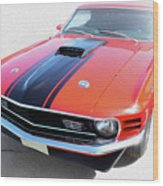 Dream_mustang48 Wood Print