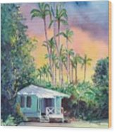 Dreams Of Kauai Wood Print