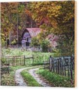 Dreams On The Farm Wood Print