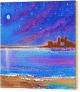 Dreamscape Narragansett Kingdom By The Sea Wood Print