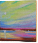 Dreamscape Serene Dawn Wood Print
