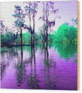 Dreamy Bayou Sorrel Wood Print