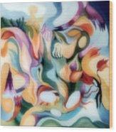 Dreamy Fairyland Wood Print