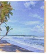 Dreamy Manzanilla Wood Print