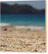 Dreamy Shell Beach Wood Print