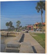 Dreamy St Augustine Florida Wood Print