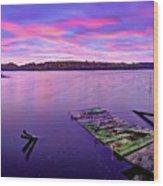 Dreamy Sunrise Wood Print