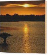 Dreamy Sunset Wood Print