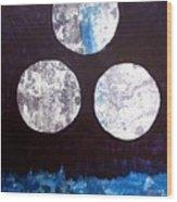Drei Monde Wood Print