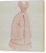 Dress Wood Print