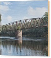 Drew Bridge Wood Print