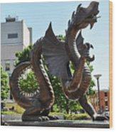 Drexel University Dragon - Philadelphia Pa Wood Print