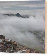 Drfiting Fog Wood Print