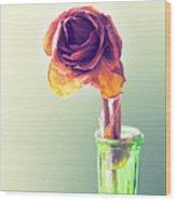 Dried Rose Wood Print