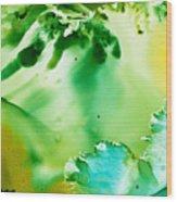 Drifting Seaweed Wood Print