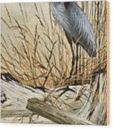 Driftwood Splendor Wood Print