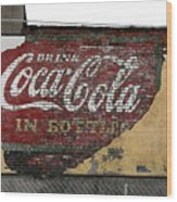 Drink Coca Cola In Bottles 2 Wood Print