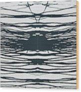 Drip2 Wood Print