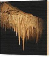 Drips - Cave Wood Print