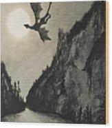 Drogon's Lair Wood Print