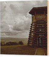 Droop Mountain Battlefield Wood Print