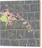 Drop Of Colour Wood Print