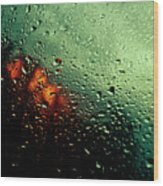 Droplets IIi Wood Print