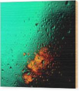 Droplets Iv Wood Print