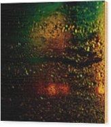 Droplets Xi Wood Print