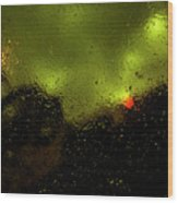 Droplets Xvi Wood Print
