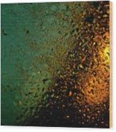 Droplets Xx Wood Print