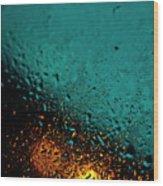 Droplets Xxii Wood Print