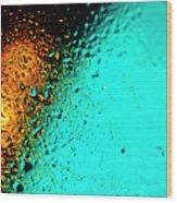 Droplets Xxiii Wood Print