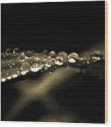 Droplets2 Wood Print